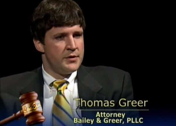 Thomas Greer Discusses The Civil Justice System Part 2